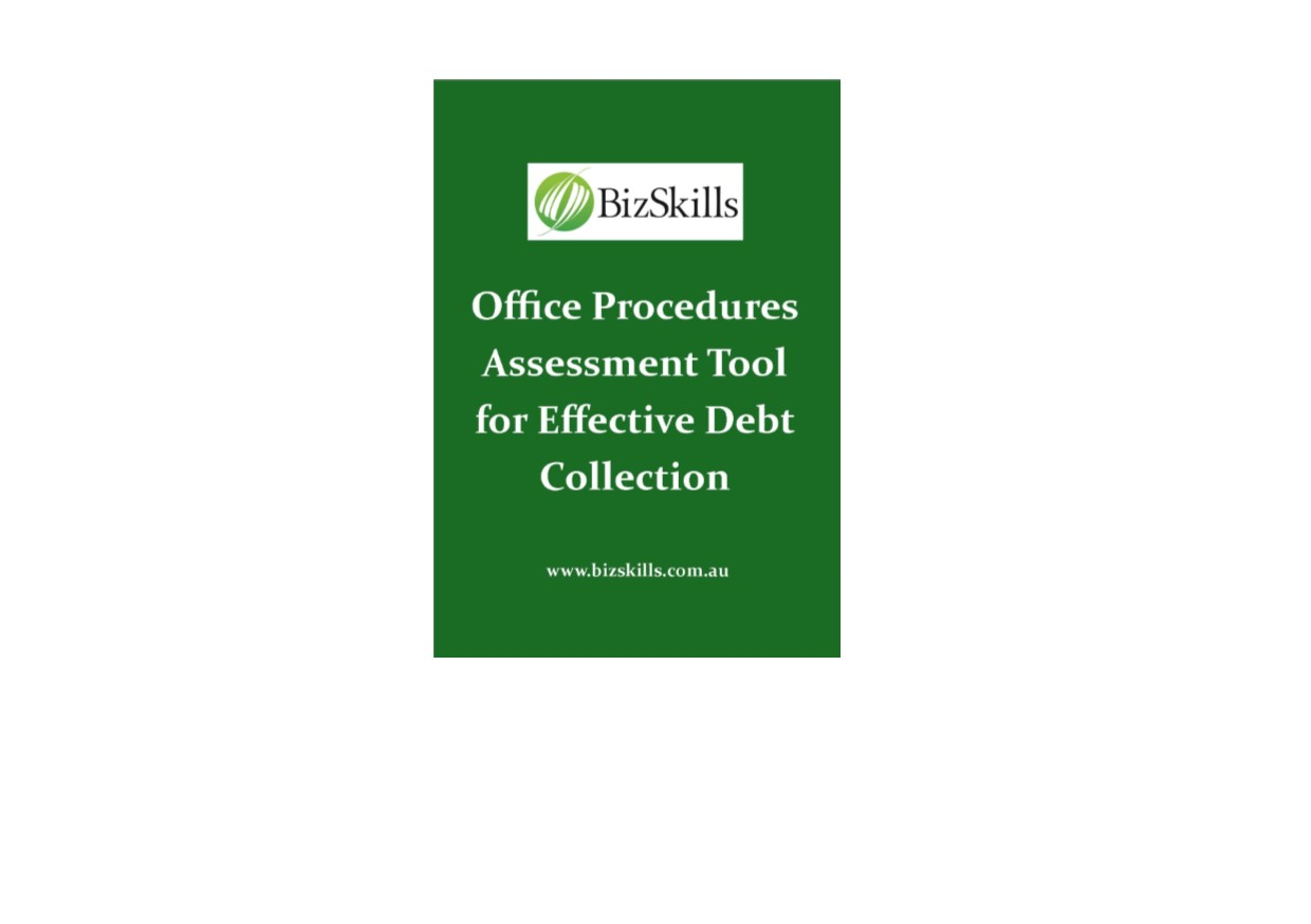 effective debt collection strategies assessment