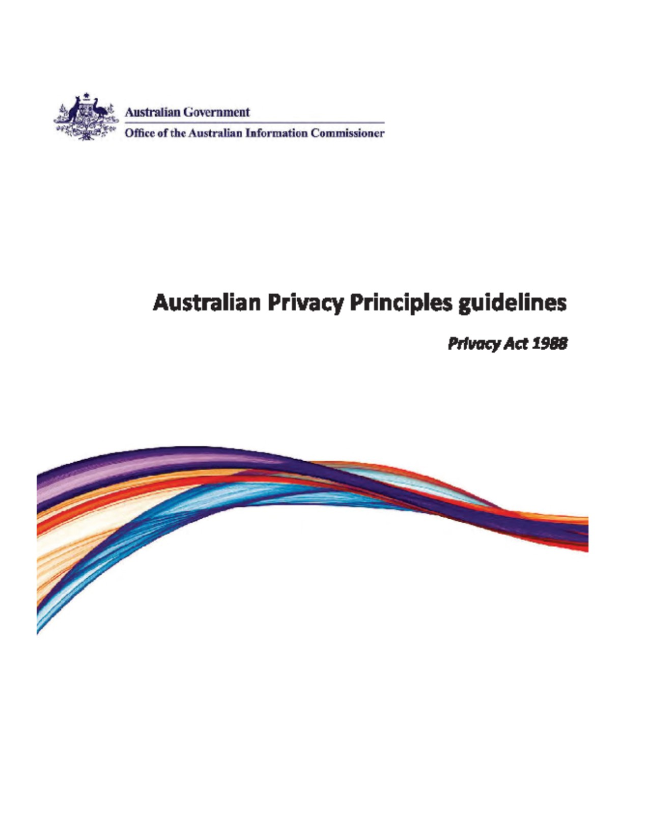 OAIC Australian Privacy Principles guidelines links
