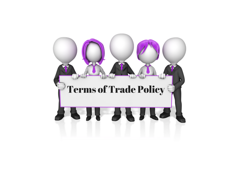 Terms of Trade Policy with Procedures